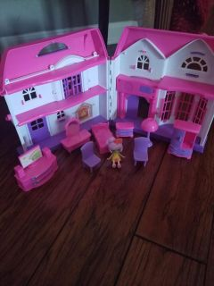 Doll House & Accessories