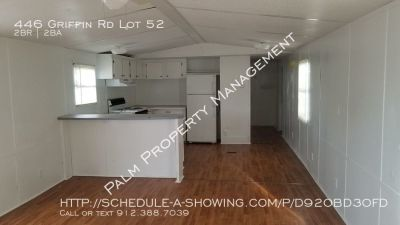 2 Bedroom & 2 Bath Mobile Home For Rent IN Twin Oaks Park