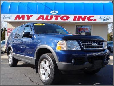2004 Ford Explorer XLT (Medium Wedgewood Blue Met)