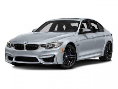 2016 BMW M3 (Mineral White Metallic)