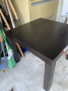 Small Square Side Table