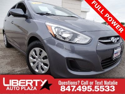 2015 Hyundai Accent GS (Gray Metallic)