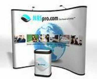 Portable Trade Show Display (8X8) with lights