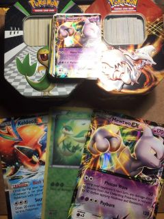 500+ Pok mon Cards (Holos, Lv. X, etc. Included) *Used - Mint*