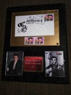 Elvis Book and Plaque