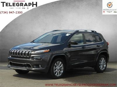 2018 Jeep Cherokee Overland (Crystal Metallic)