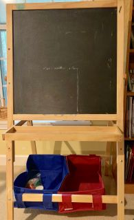Sturdy wooden easel