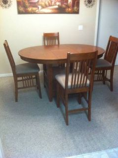 Table and chairs for dining REDUCED for quick sale