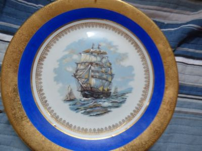 Porcelaine & Art french plate by Limoges