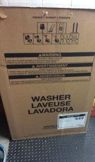 washer new in box