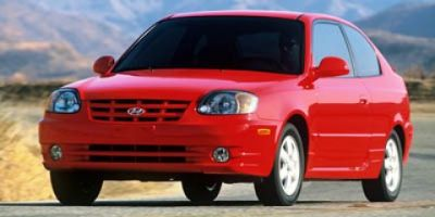 2005 Hyundai Accent GL (Retro Red)