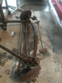 30 s complete front ford axle assembly