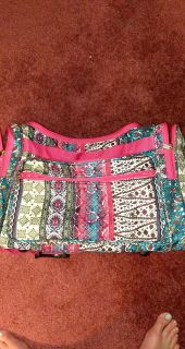 Large Boho Duffel Bag . Great condition!