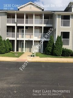 2 Bedroom, 2 full bath Condo in Congressional Villiage (1275.00)