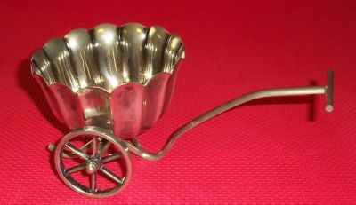 Silver Plated Condiment Cart
