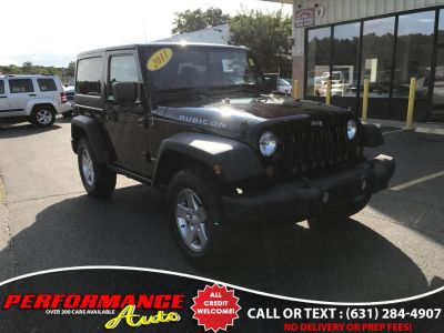 2011 Jeep Wrangler Rubicon (Black)