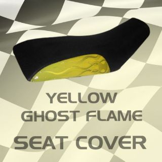 Sell Polaris trailboss xpedition 96-99 Yellow Ghost Flame Seat Cover #ksl15630 sbn7 motorcycle in Milwaukee, Wisconsin, United States, for US $39.99