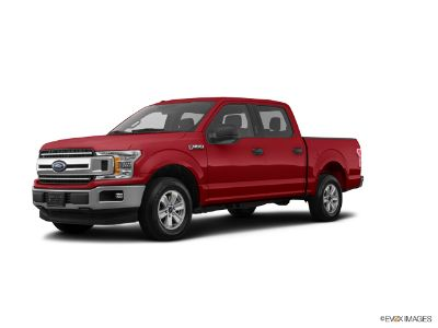 2018 Ford F-150 F150 4X4 SUPERCREW (Ruby Red Metallic Tinted Clearcoat)