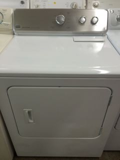 Maytag Centennial Electric Dryer in White