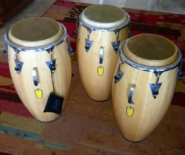 $1,350 LP Classic Conga Drums-Set of 3 in New Condition!