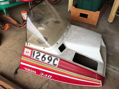 Yamaha Exciter 340 Snowmobile hood