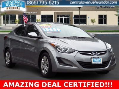 2016 Hyundai Elantra GLS ()