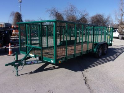 2018 Texas Bragg Trailers BRAGGS TRAILERS LANDSCAPE 18FT 18' LANDSCAPING