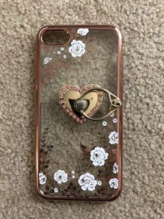 iPhone 7 case with ring.
