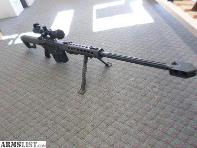 For Sale: BARRETT 82A1 50 BMG SEMI AUTO