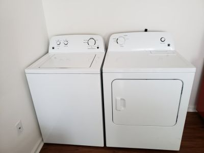Kenmore Series 100 High efficiency Washer and Dryer