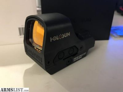 For Sale: NIB Holosun 510C Red Circle/Dot AR15 Sight