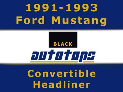 Purchase 1991-1993 Ford Mustang Convertible top HEADLINER HEAD LINER motorcycle in Shamokin, Pennsylvania, US, for US $167.00