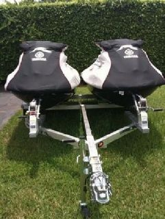 ***Low Price*** 2x2009 Yamaha - FZS PWC Jetski's With Double Trailer***