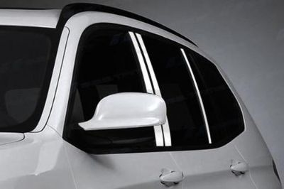 Find SES Trims TI-P-262 07-11 BMW X3 Door Pillar Posts Window Covers Trim 6 Pcs 3M motorcycle in Bowie, Maryland, US, for US $70.20