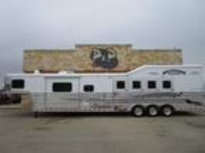 "2019 Bloomer 4 Horse 1510 "" Short Wall 4 Horse Trailer 15 10 "" LQ With Slides"