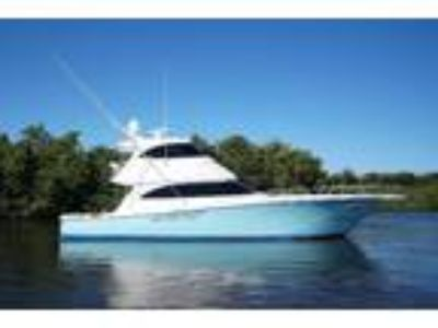 2014 Viking 62 Enclosed Bridge Convertible