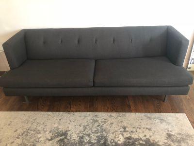 CB2 Avec Sofa (Carbon)