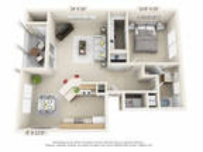 Trails of Saddlebrook - One BR, One BA (1st Floor Patio)