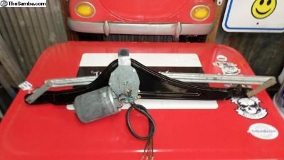 Restored wiper unit 68 Bus only NOS pivots+motor