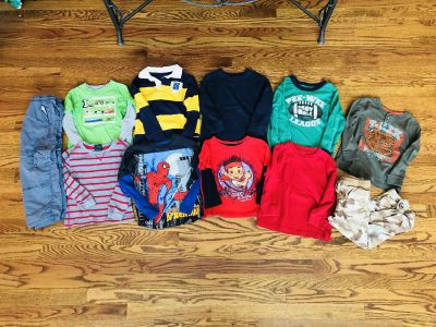 4t mixed lot of clothes! Willing to split if needed! $15