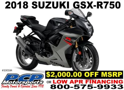 2018 Suzuki GSX-R750 SuperSport Motorcycles Sacramento, CA