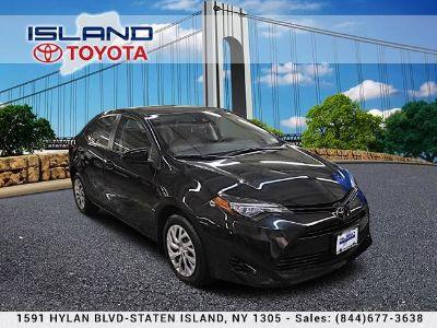 2017 Toyota Corolla L (Black Sand Pearl)