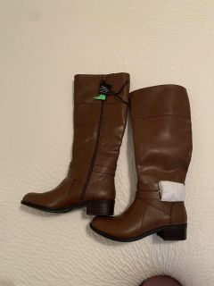 Brand new brown riding boots