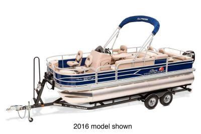 2017 Sun Tracker Fishin' Barge 22 DLX Pontoons Boats Gaylord, MI