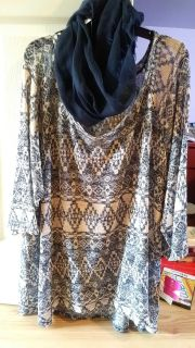NWT Shirt and Scarf