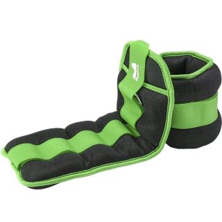 1 Pair Durable Ankle/Wrist Weights with Adjustable Velcro Strap for Fitness, Exercise, Walking, Jogging, Gymnastics, Aerobics, Gym (1lb each