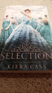 The Selection paperback by Kiera Cass