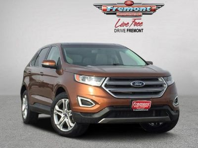 2017 Ford Edge Titanium AWD (Canyon Ridge Metallic)