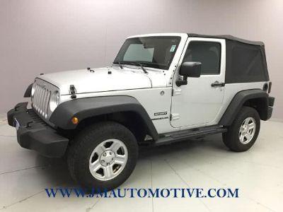 2012 Jeep Wrangler Sport (Bright Silver Metallic)