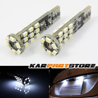 Sell 2PC SUPER WHITE 24 5050 SMD LED XENON DOME LIGHT BULB INTERIOR LAMPS 194/168/T10 motorcycle in Los Angeles, California, US, for US $13.99